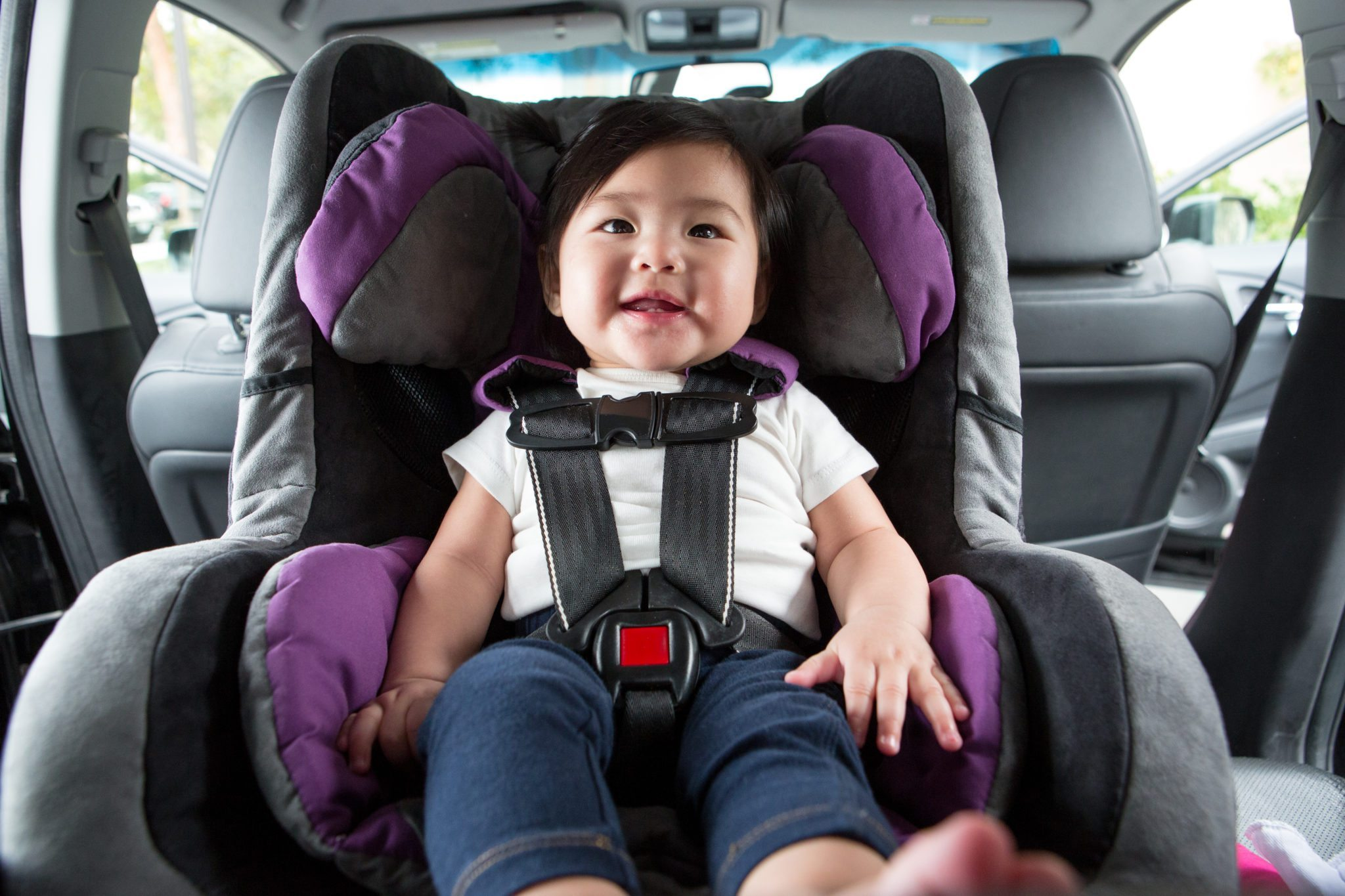 Baby Safe In Car Seat